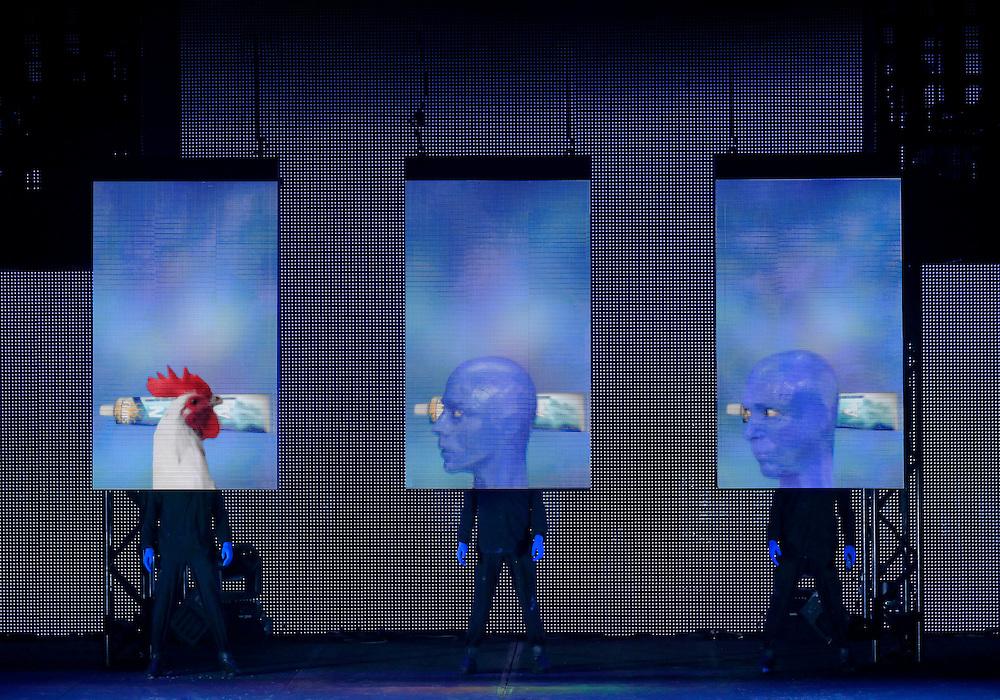 Blue Man Group National Tour.Credit photo: ©Paul Kolnik.paul@paulkolnik.com.nyc  212-362-7778