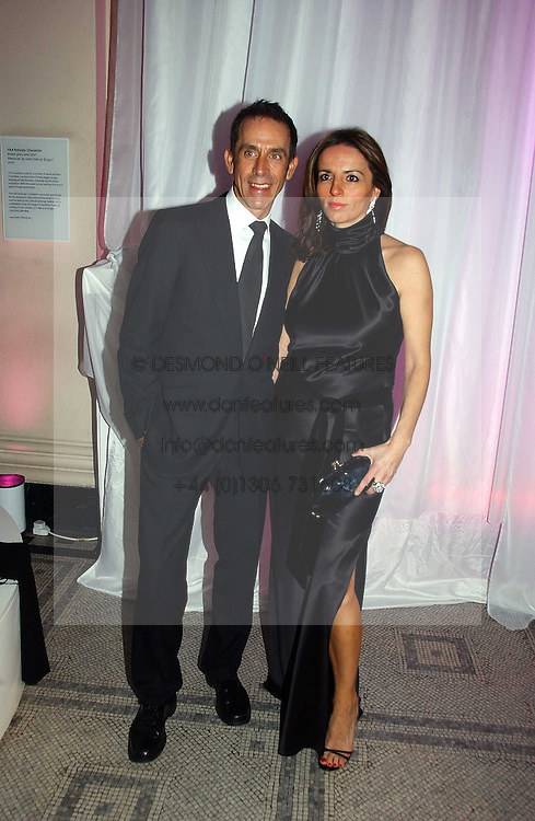BEN DE LISI and DEBBIE LOVEJOY at the British Fashion Awards 2006 sponsored by Swarovski held at the V&A Museum, Cromwell Road, London SW7 on 2nd November 2006.<br />