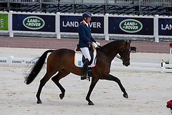 Frank Hosmar, (NED), Alphaville - Freestyle Test Grade IV Para Dressage - Alltech FEI World Equestrian Games™ 2014 - Normandy, France.<br /> © Hippo Foto Team - Leanjo de Koster<br /> 25/06/14