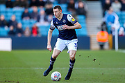 Millwall defender Murray Wallace (3) during the EFL Sky Bet Championship match between Millwall and Reading at The Den, London, England on 18 January 2020.
