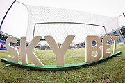 View of Sky Bet sign behind the goal before the EFL Sky Bet League 1 match between Bury and Oxford United at the JD Stadium, Bury, England on 17 December 2016. Photo by Mark P Doherty.