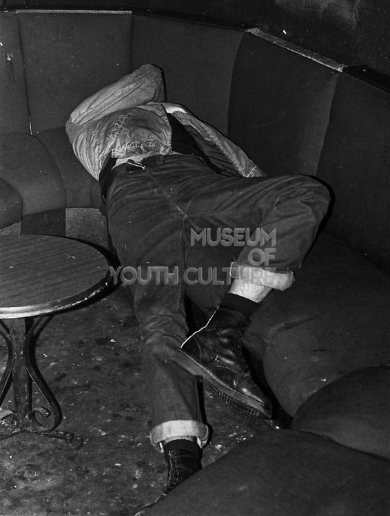 A Skinhead passed out