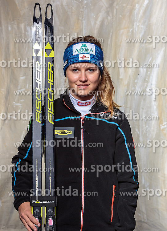08.10.2016, Olympia Eisstadion, Innsbruck, AUT, OeSV Einkleidung Winterkollektion, Portraits 2016, im Bild Anna Gandler, Biathlon, Damen // during the Outfitting of the Ski Austria Winter Collection and official Portrait Photoshooting at the Olympia Eisstadion in Innsbruck, Austria on 2016/10/08. EXPA Pictures © 2016, PhotoCredit: EXPA/ JFK