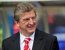 BIRMINGHAM, ENGLAND - Sunday, September 12, 2010: Liverpool's manager Roy Hodgson before the Premiership match against Birmingham City at St Andrews. (Photo by David Rawcliffe/Propaganda)