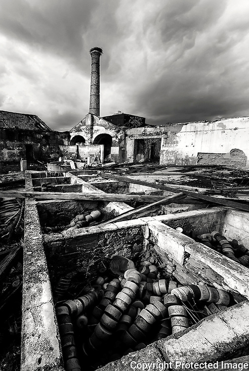 Remains of the fish processing industry in Algarve. In its golden age, there were about 30 of these, just  around Portimão city.