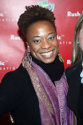 Tenesha Jackson-Warner at The Rush Philanthropic 10th Annual Youth Annual Hoiliday Party sponsored by Bounty and held at the Fillmore New York at irving Plaza on December 10, 2009 in New York City.