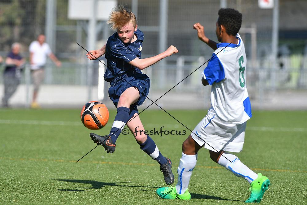08.04.17; Zuerich; Fussball FCZ Academy - Grasshopper Club - Zuerich FE14 Oberland; <br /> Kelterborn Basil (Zuerich) <br /> (Andy Mueller/freshfocus)