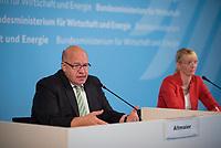 DEU, Deutschland, Germany, Berlin, 18.07.2019: Bundeswirtschaftsminister Peter Altmaier (CDU) bei einer Pressekonferenz zum Thema Reallabore der Energiewende.