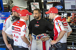 July 21, 2018 - Loudon, New Hampshire, United States of America - Paul Menard (21) gets ready to practice for the Foxwoods Resort Casino 301 at New Hampshire Motor Speedway in Loudon, New Hampshire. (Credit Image: © Stephen A. Arce/ASP via ZUMA Wire)