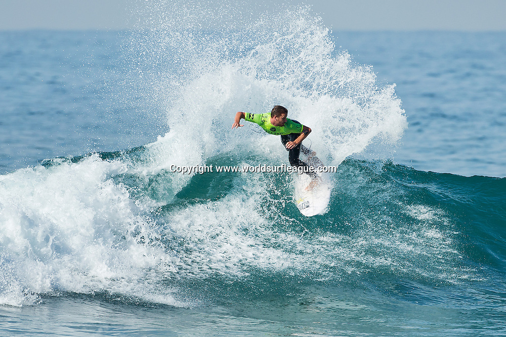 Mitch Crews of Australia (pictured) advanced into the Quarter Finals of the Ballito Pro Presented by Billabong after winning his Round 4 heat at Willards Beach, Ballito, South Africa today.<br /> <br /> IMAGE CREDIT: WSL / Ballito Pro / Cestari<br /> PHOTOGRAPHER: Kelly Cestari<br /> SOCIAL MEDIA TAG: @wsl @theballitopro @kc80<br /> <br /> The Ballito Pro Presented by Billabong is an international surf and lifestyle event hosted in Ballito, the jewel of KwaZulu-Natal's North Coast.  This event is a strategic partnership between World Surf League (WSL) and the KwaDukuza Municipality, together with various public and private sector partners<br /> <br /> In 2015 Billabong took the baton from Mr Price, agreeing to carry on the proud legacy of the world's longest running progressional surfing event as it enters its 47th year.<br /> <br /> The festival runs from June 28 to July 5 and with over 10 000 visitors enjoying festivities last year 2015 promises to be bigger and better than ever and anticipates record numbers.<br /> <br /> View the event live at www.theballitopro.com.