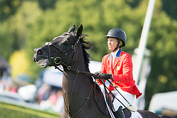 Madden Beezie (USA) - Cortes C<br /> Furusiyya FEI Nations Cup<br /> International Horse Show - Hickstead 2014<br /> © Hippo Foto - Jon Stroud