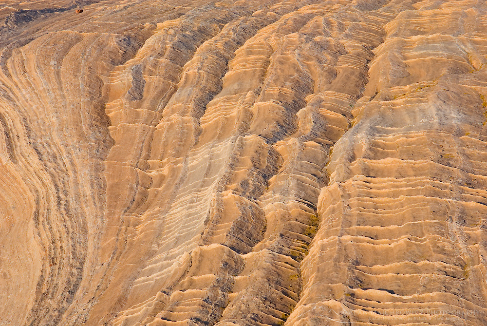 Colorful sandstone slickrock cross-bedding, Vermilion Cliffs Wilderness Utah