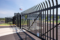 Manassas VA Data Center security fence by Jeffrey Sauers of Commercial Photographics