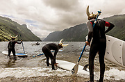 SUP ( standing up Paddle) in FraFjord