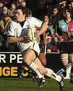 Parker Pen Challenge Cup 14/01/2004 Harlequins v Brive.1st leg...Brive's Jerome Nave   [Mandatory Credit, Peter Spurier/ Intersport Images].