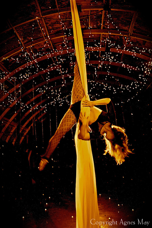 Aerial still photography taken during a video shoot at Mission in Culver City, CA. Aerialist featured: Laila Liliana. Video: Marty Taylor. Photography: Agnes May. Video may be viewed here: http://vimeo.com/50724250