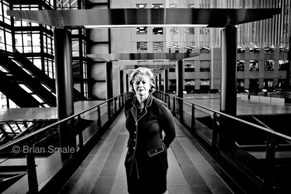 Barbara Stymiest, Chairman of RIM / Research In Motion.  Photographed in Toronto, Canada by Brian Smale, for Fortune Magazine's list of the world's most powerful women. Barbara Stymiest, Royal Bank of Canada.  Photographed in Toronto by Brian Smale for Fortune Magazine. Barbara Stymiest, Royal Bank of Canada.  Photographed in Toronto by Brian Smale for Fortune Magazine.