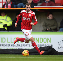 Swindon Town's Andy Williams in action during the Sky Bet League One match between Swindon Town and Chesterfield at The County Ground on January 17, 2015 in Swindon, England. - Photo mandatory by-line: Paul Knight/JMP - Mobile: 07966 386802 - 17/01/2015 - SPORT - Football - Swindon - The County Ground - Swindon Town v Chesterfield - Sky Bet League One