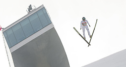 03.01.2015, Bergisel Schanze, Innsbruck, AUT, FIS Ski Sprung Weltcup, 63. Vierschanzentournee, Innsbruck, Training, im Bild Kento Sakuyama (JPN) // Kento Sakuyama of Japan soars through the air during a training session for the 63rd Four Hills Tournament of FIS Ski Jumping World Cup at the Bergisel Schanze in Innsbruck, Austria on 2015/01/03. EXPA Pictures © 2015, PhotoCredit: EXPA/ Jakob Gruber