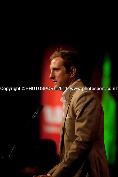 Former England and Lions player Will Greenwood during the Westpac International Rugby Legends charity dinner at Claudelands event center, Hamilton, New Zealand, Wednesday 25 May 2011. Photo: Dion Mellow/photosport.co.nz