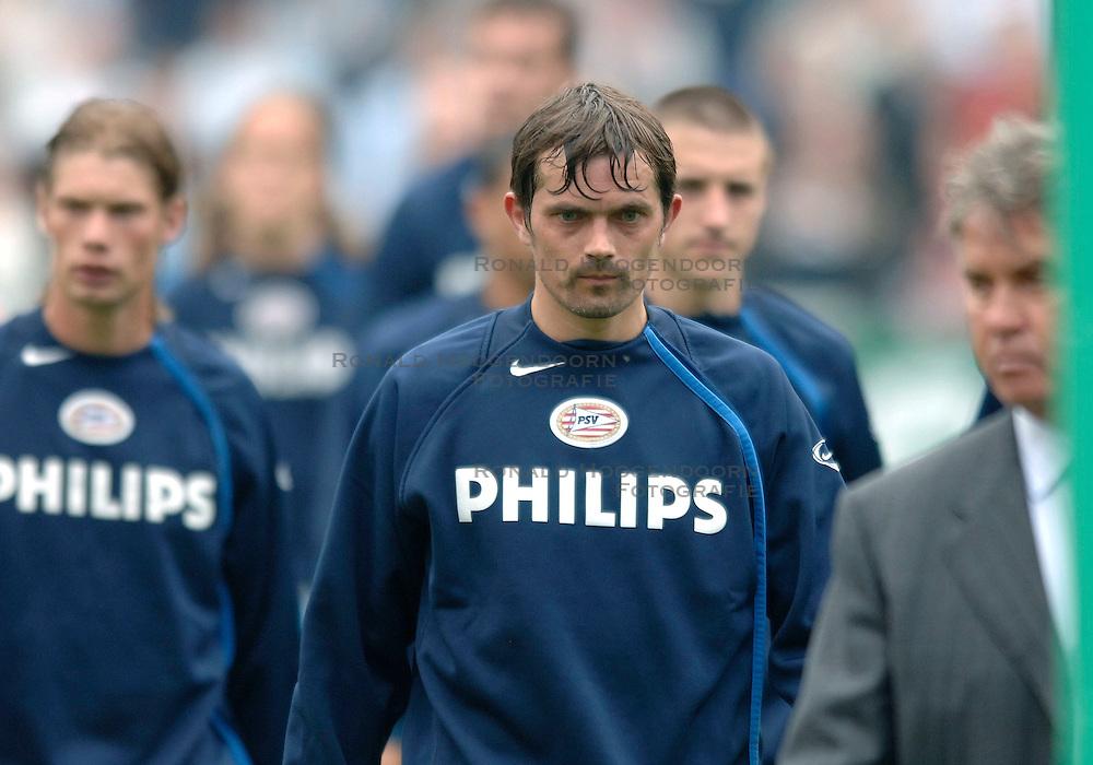 07-05-2006 VOETBAL: FINALE GATORADE CUP: AJAX - PSV: ROTTERDAM<br /> Een teleurgestelde Phillip Cocu<br /> &copy;2006-WWW.FOTOHOOGENDOORN.NL