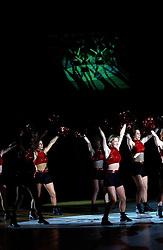 30-12-2002 BASKETBAL: HBW FINALE RICOH ASTRONAUTS - RACING BASKET ANTWERPEN: HAARLEM<br /> Chicago LuvaBulls , cheerleaders<br /> ©2002-WWW.FOTOHOOGENDOORN.NL