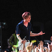 Cage the Elephant performs at Merriweather on May 3, 2014.