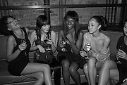 ELARICA GALLACHER, HOLLY DORMON, GABRIELLA RIGGON, AMAYA LOUIS AND DANIELLE HAYMAN. The Launch of the Cavalli Selection. 17 Berkeley St. London. 29 May 2008.   *** Local Caption *** -DO NOT ARCHIVE-© Copyright Photograph by Dafydd Jones. 248 Clapham Rd. London SW9 0PZ. Tel 0207 820 0771. www.dafjones.com.