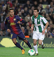 FC Barcelona's VS Cordoba. Copa del Rey soccer match at the Camp Nou stadium in Barcelona, Spain, Thursday, Jan. 10, 2013.