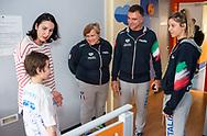 Fabio Conti<br /> Visita Sette Rosa Ospedale Policlinico Universitario Agostino Gemelli<br /> Photo Pasquale Mesiano/ Deepbluemedia /Insidefoto