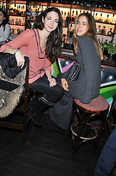 Left to right, CELIA WEINSTOCK and JESSICA NAYLOR-LEYLAND at a party to celebrate the best of W&W Jewellery held at Barts, 87 Sloane Avenue, London on 26th November 2012.