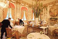The Restaurant of Hotel Meurice, Paris