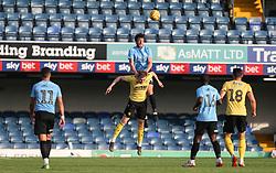 Southend trialist climbs highest to win a header - Mandatory by-line: Arron Gent/JMP - 24/07/2019 - FOOTBALL - Roots Hall - Southend-on-Sea, England - Southend United v Millwall - pre season friendly