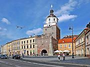 Brama Krakowska. Lublin, stare miasto