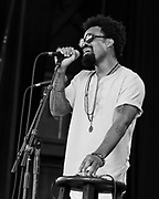 Bilal performs during the Summer Spirit Festival 2018 at Merriweather Post Pavilion in Columbia, MD on Saturday, August 4, 2018.