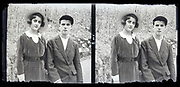 youth friends posing together France circa 1930s