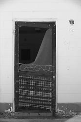 broken down screen door