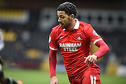 Leyton Orient midfielder Jobi McAnuff during the Sky Bet League 2 match between Notts County and Leyton Orient at Meadow Lane, Nottingham, England on 20 February 2016. Photo by Jon Hobley.