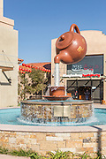 Soaring Teapot Fountain at Camellia Square Temple City