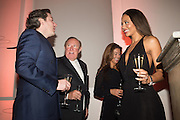 CEAWLIN THYNN, VISCOUNT WEYMOUTH; ANDREW NEIL;SUSAN NILSSON;  EMMA LADY WEYMOUTH Dinner and a performance and film screening from Carnet de and Mike Figgis (who has created a film especially for the event)  to celebrate David Tang and to mark the start of construction of the RA's £50 million redevelopment project.  Royal Academy. Piccadilly. London. 26 October 2015.