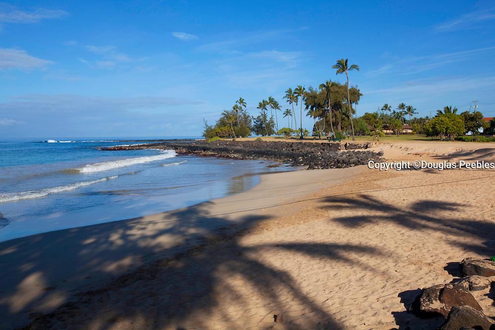 Brennnecke Beach, Poipu, Kauai, Hawaii