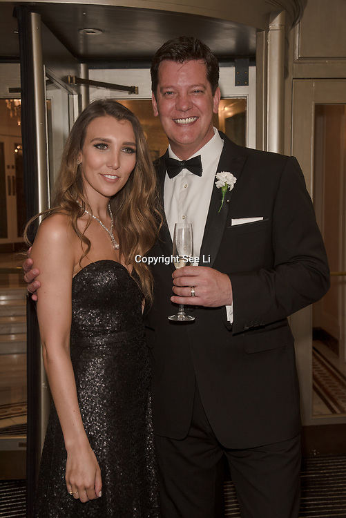 Lucy Kane and Sam Kane attend the Rainbows Celebrity Charity Ball at Dorchester Hotel on June 1, 2018 in London, England.