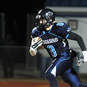 Hoggard's Evan Allegret rushes against Scotland Friday November 28, 2014 at Hoggard High School in Wilmington, N.C. (Jason A. Frizzelle)