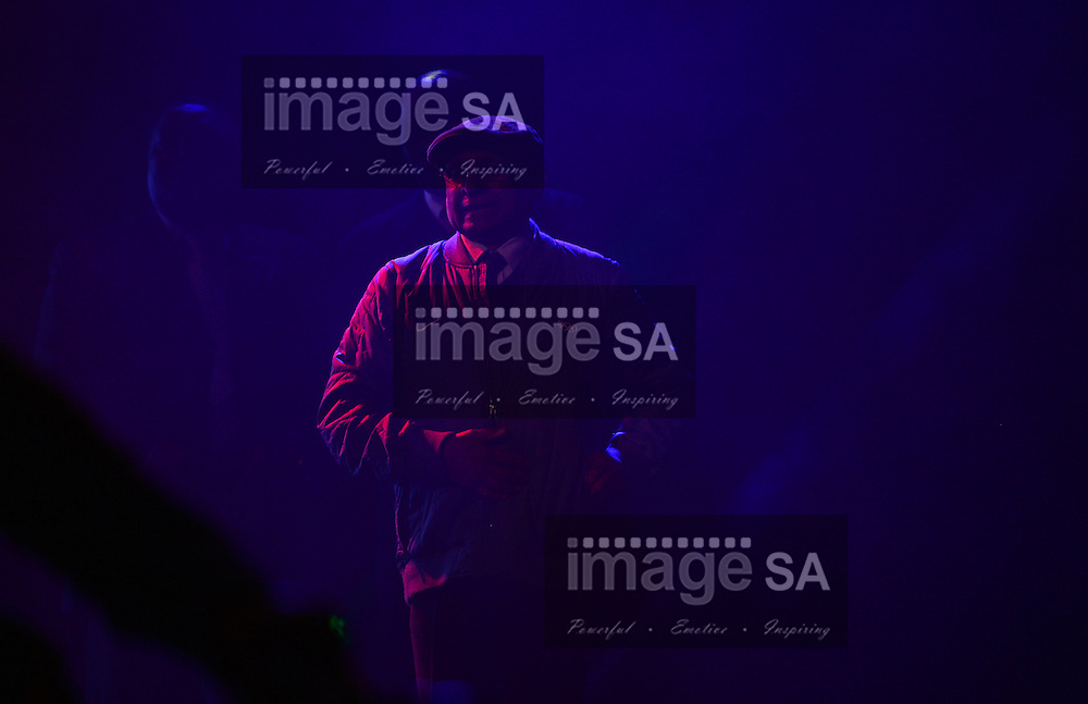 DURBAN, SOUTH AFRICA - JUNE 21: Dr Sam Ramsamy waits in the wings during the CAA 20th African Senior Championships Opening Ceremony at Growth Point Kings Park stadium on June 21, 2016 in Durban, South Africa. (Photo by Roger Sedres/Gallo Images)