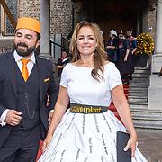 NLD/Den Haag/20180918 - Prinsjesdag 2018, Marianne Thieme en Selçuk Öztürk