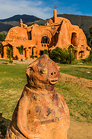 Villa De Leyva, Colombia  - February 8, 2017 : Casa Terracota House Villa de Leyva Boyaca in Colombia South America