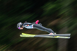 BJOERSETH Thea Minyan (NOR) during first round on day 2 of  FIS Ski Jumping World Cup Ladies Ljubno 2020, on February 23th, 2020 in Ljubno ob Savinji, Ljubno ob Savinji, Slovenia. Photo by Matic Ritonja / Sportida