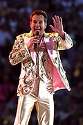 Toppers in Concert 'Royal Night of Disco' in de Amsterdam ArenA.<br /> <br /> Op de foto:   Gerard Joling