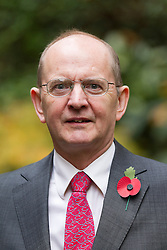 © Licensed to London News Pictures. 24/10/2012. LONDON, UK. Andrew Smith, the UK Independence Party Police and Crime Commissioner candidate for Essex, is seen after a press conference in London today (24/10/12).  The conference was held by the party to announce their 25 candidates who will stand for the position of Police and Crime Commissioner in various constabularies across England and Wales. Photo credit: Matt Cetti-Roberts/LNP