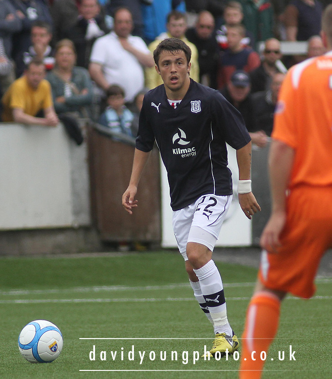 Dundee's Jamie Reid - Forfar Athletic v Dundee - pre-season friendly at Station Park<br /> <br />  - &copy; David Young - www.davidyoungphoto.co.uk - email: davidyoungphoto@gmail.com